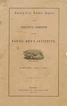 Thumbnail image of Young Men's Institute 1859 Report cover