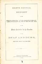 Thumbnail image of Illinois Deaf and Dumb Institution 1859-60 Report cover