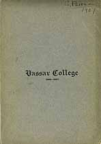 Thumbnail image of Vassar College 1906-07 Catalogue cover