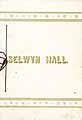 Thumbnail image of Selwyn Hall 1886-87 Catalogue cover