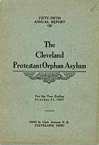 Thumbnail image of Cleveland Protestant Orphan Asylum 1907 Report cover
