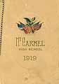 Thumbnail image of Mount Carmel High School 1919 Graduation cover