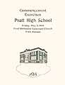 Thumbnail image of Pratt High School 1918 Commencement cover