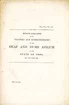 Thumbnail image of Ohio Deaf and Dumb Inst. 1842 Report cover