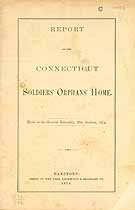 Thumbnail image of Connecticut Soldiers' Orphans' Home 1874 Report cover