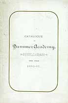Thumbnail image of Dummer Academy 1882-83 Catalogue cover