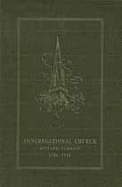 Thumbnail image of Rutland Congregational Church 1913 Directory cover