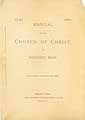 Thumbnail image of Bedford Church of Christ 1880 Manual cover