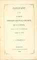 Thumbnail image of Taunton First Congregational Church 1853 Directory cover