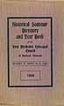 Thumbnail image of Rutland First Methodist Episcopal Church 1909 Directory cover
