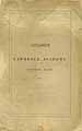 Thumbnail image of Lawrence Academy 1861 Catalogue cover