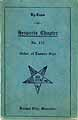 Thumbnail image of Hesperia Chapter No. 172 O.E.S. 1912 Members cover