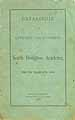 Thumbnail image of North Bridgton Academy 1879-80 Catalogue cover