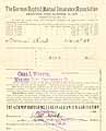 Thumbnail image of German Baptist Mutual Ins. 1908-09 Losses cover