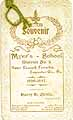 Thumbnail image of Myer's School 1896-7 Souvenir cover
