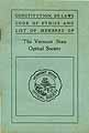 Thumbnail image of Vermont Optical Society 1909-10 Members cover