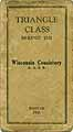 Thumbnail image of Wisconsin Consistory A. A. S. R. 1928 Roster cover