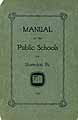 Thumbnail image of Shamokin Public Schools 1924 Manual cover