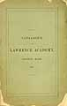 Thumbnail image of Lawrence Academy 1867 Catalogue cover