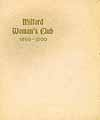 Thumbnail image of Milford Woman's Club 1899-1900 cover