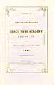 Thumbnail image of Black River Academy 1847-1848 Catalogue cover