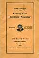 Thumbnail image of Kentucky Negro Education Assoc. 1926 Proceedings cover