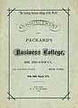 Thumbnail image of Packard's Business College 1876 Catalogue cover