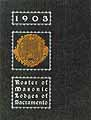 Thumbnail image of Sacramento 1903 Masonic Directory cover