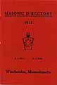 Thumbnail image of Winchendon 1912 Masonic Directory cover