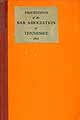 Thumbnail image of Tennessee Bar Association 1914 Proceedings cover