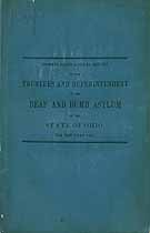 Thumbnail image of Ohio Deaf and Dumb Inst. 1849 Report cover