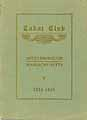 Thumbnail image of Cabot Club 1924-1925 Year Book cover