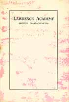 Thumbnail image of Lawrence Academy 1916-1917 Catalogue cover