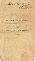 Thumbnail image of Ware East Evangelical Church 1832 Membership cover