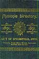 Thumbnail image of Springfield 1891 Masonic Directory cover