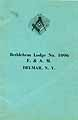 Thumbnail image of Bethlehem Lodge, F. & A. M. 1930 By-Laws cover