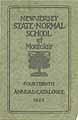 Thumbnail image of Montclair Normal School 1922 Catalogue cover