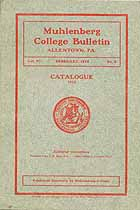 Thumbnail image of Muhlenberg College 1912 Catalog cover