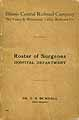 Thumbnail image of Illinois Central Railroad Company Roster of Surgeons cover
