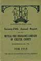 Thumbnail image of Chester Co. Mutual Fire Ins. 1915 Report cover