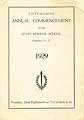 Thumbnail image of State Normal School 1929 Commencement cover