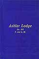 Thumbnail image of Ashlar Lodge, F. & A. M., 1927 By-Laws cover