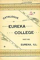 Thumbnail image of Eureka College 1888 Catalogue cover