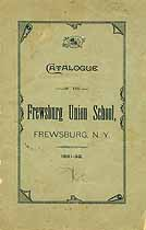 Thumbnail image of Frewsburg Union School 1891-92 Catalogue cover