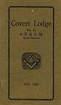 Thumbnail image of Covert Lodge, F. & A. M., 1924 Roster cover