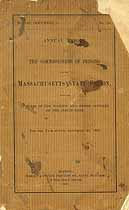 Thumbnail image of Massachusetts State Prison 1892 Report cover