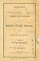 Thumbnail image of Maine State Prison 1869 Report cover