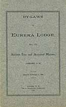 Thumbnail image of Eureka Lodge, F. & A. M. 1912 By-Laws cover