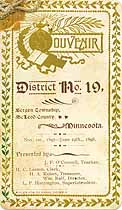 Thumbnail image of Bergen Township School 1897-1898 Souvenir cover