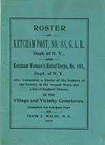 Thumbnail image of Ketcham G. A. R. Post No. 88 Roster cover